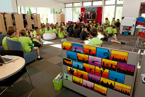 Innovative Primary Classrooms : Our school clearview primary